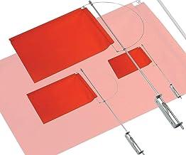 Pauli roestvrijstalen design klikker windrichtingweergave met zijhouder