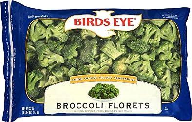 Birds Eye Fresh Frozen Deluxe Broccoli Florets, Keto Friendly, 52 ounce resealable bag