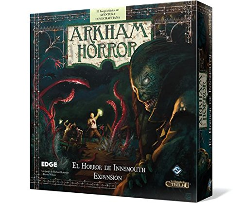 Edge 599386031 - Arkham horror. el horror de innsmouth. expansión