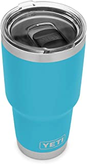 YETI Rambler 30 oz Stainless Steel Vacuum Insulated Tumbler w/MagSlider Lid, Reef Blue
