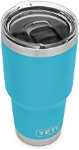 YETI Rambler 30 oz Stainless Steel Vacuum Insulated Tumbler w/MagSlider Lid, Reef Blue