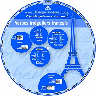 French Verb Wheel (Verbes Irreguliers Francais)