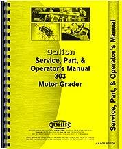 Galion 303 Grader Service Manual