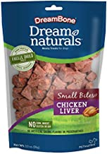 Dreambone Dreamnaturals Chicken Liver Freeze Dried Treats For Dogs, High Protein Small Bites