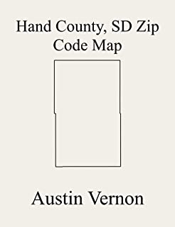 Hand County, South Dakota Zip Code Map: Includes Burdette, Como, Miller, Ontario, Pleasant Valley, St. Lawrence, Riverside, Rose Hill, Alden, Linn, Northwest ... Hand, Cedar, Glendale, Holden, Miller, Mon