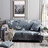Funda elástica para sofá, Fundas elásticas Modernas, Fundas para sofá para Sala de Estar, Silla, Funda para sofá, Fundas para Muebles A7, 2 plazas