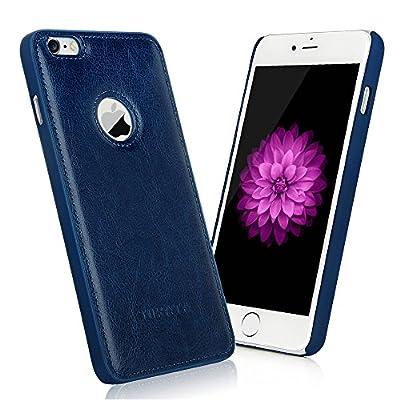 iPhone 6 Plus/6s Plus Case - TURATA [Slim fit] Premium PU Leather Surface Coated Non Slip PC Back Thin Protection Hard Case for iPhone 6 Plus/6s Plus