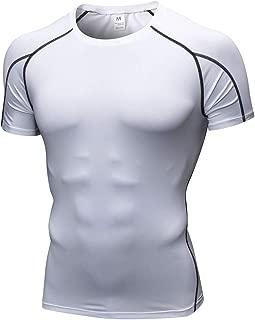 EUYOO T Shirt Uomo Maglia Uomo Manica Corta Magliette Ragazzo Stampa Divertenti Maglietta Uomini Maniche Corte Slim Fit Vintage Maglie Particolari Estate Camicia Tops Bodybuilding