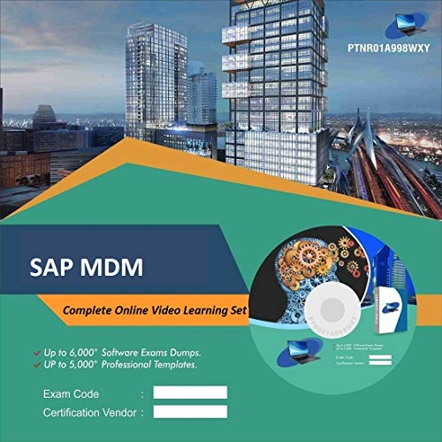 SAP MDM Complete Video Learning Solution Set (DVD)