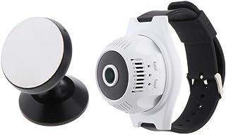 Homyl X7 Mini Camera HD 1080p Small Micro Video Recorder Watch Wifi IP Cam - Black, 45x45mm