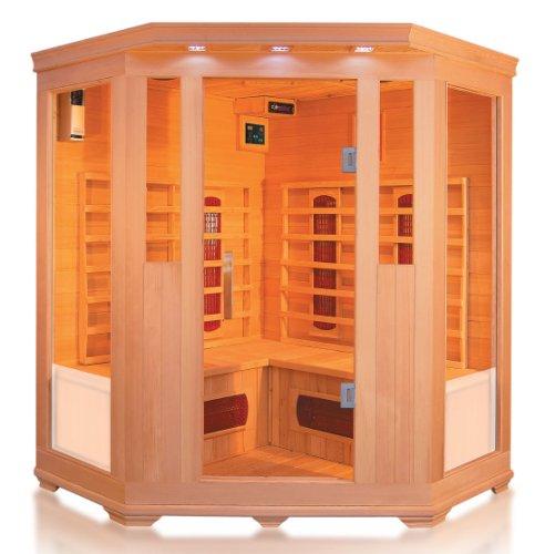 Infrarotkabine / Wärmekabine / Sauna - ECK ! für 4 Personen