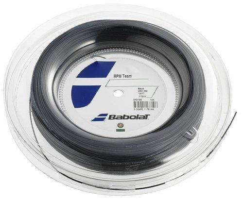 Babolat RPM Team 200M Cordaje de Tenis, Unisex Adulto, Negro, 130