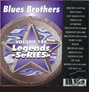 Blues Brothers 17 Song Karaoke CDG Legends #190