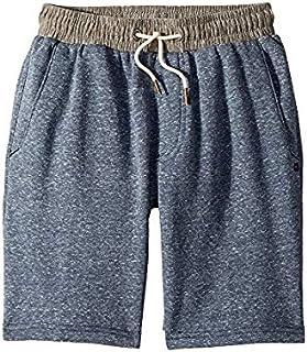 リップカール Rip Curl Kids キッズ 男の子 ショーツ 半ズボン Navy Sea Side Fleece Shorts (Big Kids) [並行輸入品]