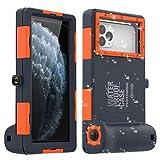 AICase Boîtier étanche Universel pour Photographie sous-Marine pour iPhone 11/11 Pro/11 Pro Max/XR/7/7 Plus/8/8 Plus/6S Plus [15 m], étui de plongée pour Galaxy S10/S10 Plus/Note 10 Plus/S9 Plusetc.