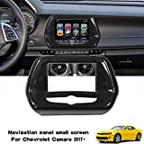 RT-TCZ Touch Screen Car Display Navigation Screen Trim Cover ABS Trim Decor for Chevrolet Camaro 2017 2018 2019 2020 Carbon Fiber Small Size