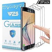 [Lot de 3] Verre Trempé Galaxy S7,WZS Film Protection en Verre trempé écran Protecteur Vitre pour Samsung Galaxy S7 Anti Rayures - Sans Bulles D'AIR -Ultra Résistant Dureté 9H Glass Screen Protector