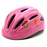 M Merkapa Kids Bike Helmet Adjustable Bicycle Helmets for Toddler and Youth (Pink, M)