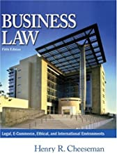 Business Law, Fifth Edition