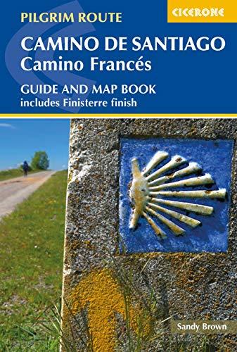 Camino de Santiago: Camino Frances: Guide and map book - includes Finisterre finish (Cicerone Guides)