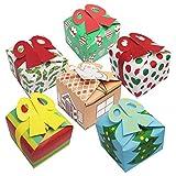 Belle Vous Scatole Regalo Natale con Fiocco (24pz) -...