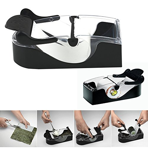 Happy Hours - Perfect Home DIY Easy Onigiri Roll Ball Magic Roll Cutter Sushi Maker Cutter Roller Rice Mold Machine Gadgets Kitchen Accessories Tool