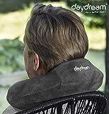 daydream Nackenkissen aus Memory Foam (grau) für Reise mit Flugzeug und Auto und andere Reisen  ...