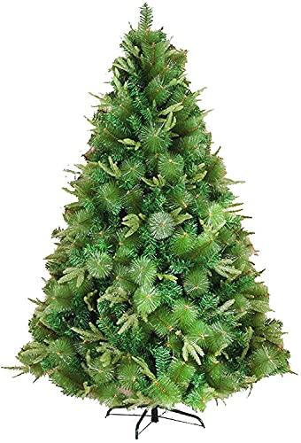 Albero di Natale Albero di Natale Full Xmas Tree Easy Treezy Trees Christmas Alberi di Natale 6ft 7ft Decorazioni per Indoor Easy Assembly Alberi artificiali di Natale artificiali ( Size : 210cm )
