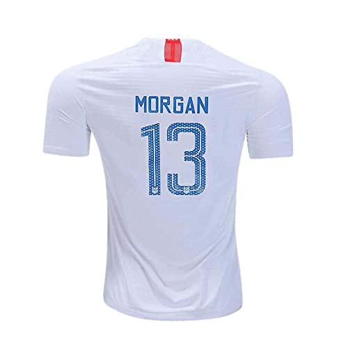 f5c4e7bd9 Womens Morgan  13 USA National Alex 2018 19 Star Home Jersey White