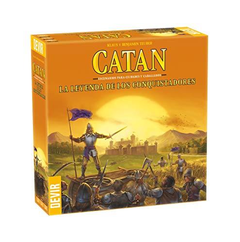 Devir-Catan La Leyenda de Los Conquistadores, Multicolor (BGCATLEY)