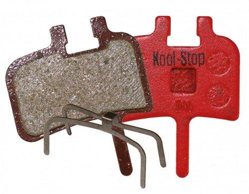 Kool Stop Disk Brake Pads Avid Juicy 3/5/7/Ultimate, BB7 Mechanical Bremsbeläge, rot, One Size