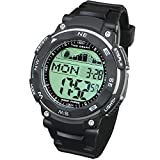 Best Fishing Watches - Lad Weather Tide Graph Watch Moon Phase Fishing Review
