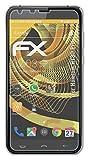 atFoliX Película Protectora Compatible con Homtom HT30 Pro Lámina Protectora de Pantalla, antirreflejos y amortiguadores FX Protector Película (3X)