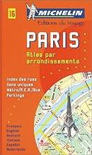 Michelin Paris Pocket Atlas (by Arrondissements) Map No. 16