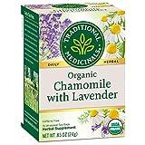 Traditional Medicinals Teas Organic Chamomile with Lavender 16 Tea bags chamomile teas Dec, 2020