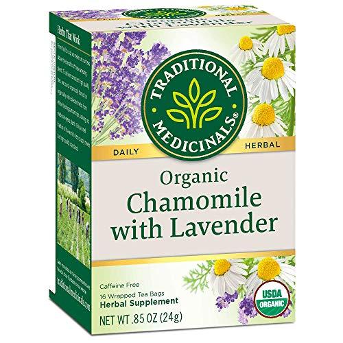 Traditional Medicinals Chamomille with Lavendar Organic Tea 16 Bg, 1.13 oz