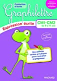 2017 Graphilettre Production d'Ecrits CM1 CM2