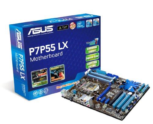 ASUS P7P55 LX Mainboard Sockel Intel 1156 P55+ICH10 DDR3 Speicher ATX