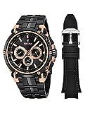 Festina Homme Chronographe Quartz Montre avec Bracelet en Acier Inoxydable F20329/1