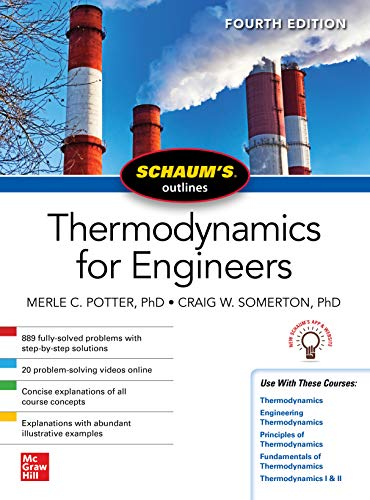 Schaums Outline of Thermodynamics for Engineers, Fourth Edition (Schaum's Outlines) (English Edition)