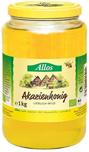 Allos Akazienhonig, flüssig *GV, 1er Pack (1 x 1 kg)