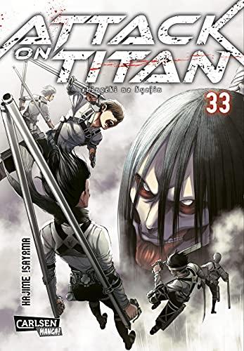 Attack on Titan 33: Atemberaubende Fantasy-Action im Kampf gegen grauenhafte Titanen