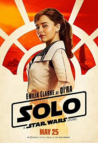 Solo : A Star Wars Story – Qi-ra – U.S Movie Wall Poster Print - 30cm x 43cm / 12 inches x 17 inches