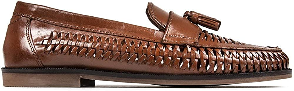SOLE Mens Acorn Loafers Shoes Brown