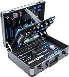 BGS 15501 | Profi-Werkzeug-Satz im Alu-Koffer | 149-tlg. | gefüllt | abschließbar | Werkzeugkiste | Werkzeugbox