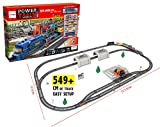 Electric Train Set for Kids Express Toy with Tracks & Accessories by EazyToys