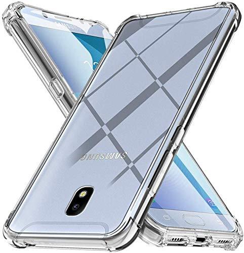Funda para Samsung Galaxy J5 2017 / J530 Carcasa, Silicona Transparente Protector Suave TPU Tecnología de amortiguación de Aire Ultra-Delgado Anti Caídas Case para Samsung Galaxy J5 2017 Caso Caja