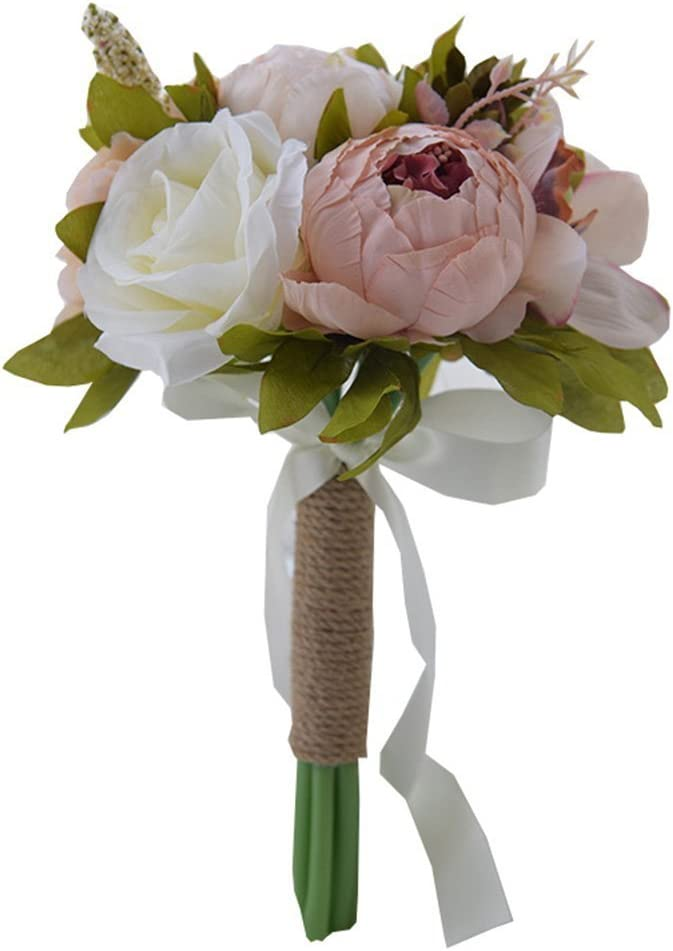 Jackcsale Bridesmaid Ranking TOP20 Wedding Bouquet Roses San Diego Mall Silk Artificial and