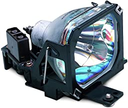 Epson Projeor Replacement Lamp, 200W, Silver (EPSV13H010L30)