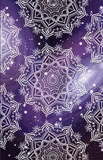 Bullet Journal: Galaxy Purple Sky Mandala Notebook, Dotted Grid, (5.5 x 8.5)